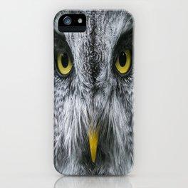 bird owl iPhone Case