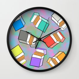 Death Sticks Wall Clock