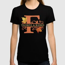 Thanksgiving F Monogram T-shirt