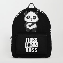 Panda Floss Like a Boss Backpack