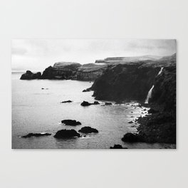 Azores coastal landscape Canvas Print
