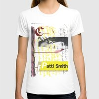 calligraphy T-shirts featuring Calligraphy 4 by omerfarukciftci