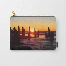 Stunning sunset through the sticks Carry-All Pouch