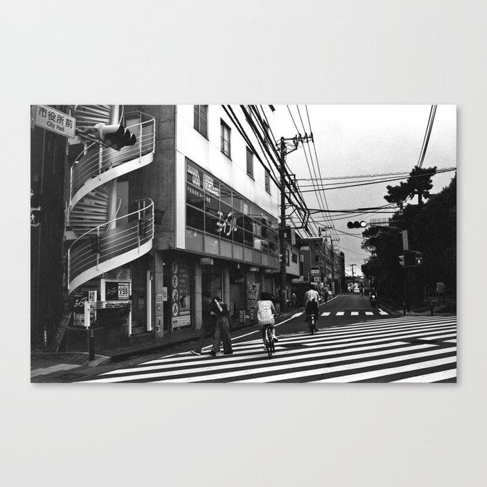 Streets of Kamakura Leinwanddruck