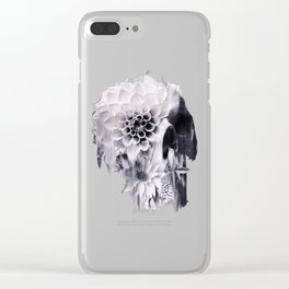 Decay Skull Clear iPhone Case