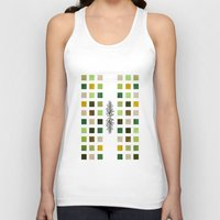 flora Tank Tops featuring Flora by Diogo Verissimo