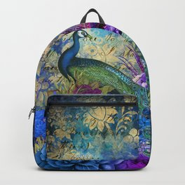 The Royal Peacock Backpack