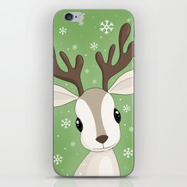 Cute Reindeer iPhone Skin