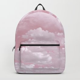 Clouds in a Pink Sky Backpack
