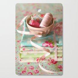 Craft Room - pastel Cutting Board