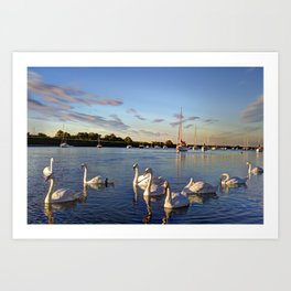 The River Crouch Essex Art Print