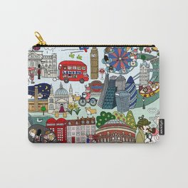 The Queen's London Day Out Carry-All Pouch