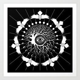 Pursuit of Next, a Tree of Life Art Print