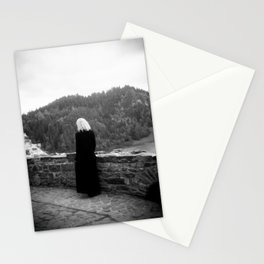 Ghost of the Castle - Film Photograph taken in Poland Stationery Cards