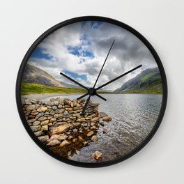 Idwal Lake Wall Clock
