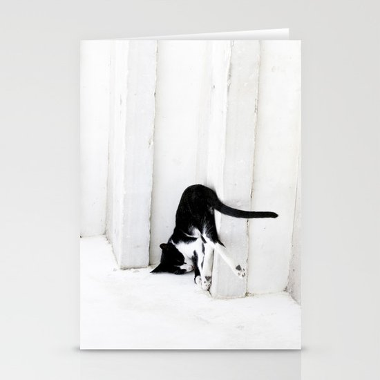 Black on White 2 Stationery Cards