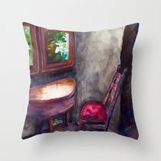 A room of one's own Throw Pillow