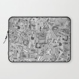 power tools black white Laptop Sleeve