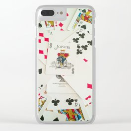 Cards Clear iPhone Case
