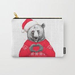 christmas bear Carry-All Pouch