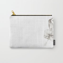 Sunbird_graphite by Pia Tham Carry-All Pouch