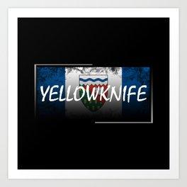 Yellowknife Art Print