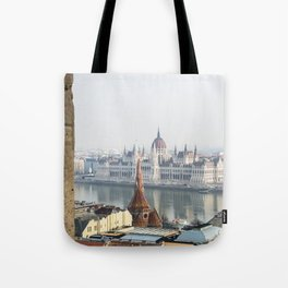 The Parliament Building. Tote Bag