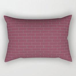 Plum Wall Rectangular Pillow