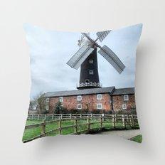 Skidby Windmill Throw Pillow