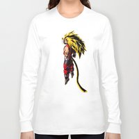 vegeta Long Sleeve T-shirts featuring SS3 Vegeta by Prince Of Darkness