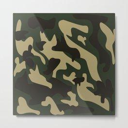 Camouflage #society6 #decor #buyart #artprint Metal Print