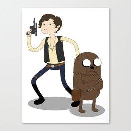 It's Scoundrel Time! Canvas Print