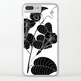 Bone Marrow Tobacco (Also known as Rock Pituri) - Nicotiana gossei Clear iPhone Case