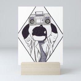Say Orcathing Mini Art Print