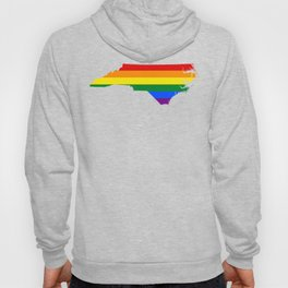 Gay Pride North Carolina (LGBT) Hoody