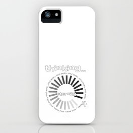 Christian Design - Thinking Eternity - For Ever and Ever iPhone Case