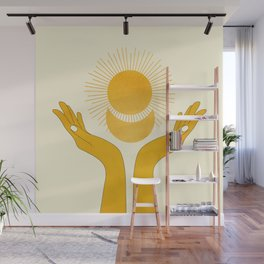 Holding the Light Wall Mural