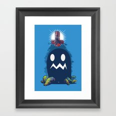 Glow In The Dark Framed Art Print