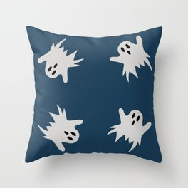 Ghosts #3 Throw Pillow
