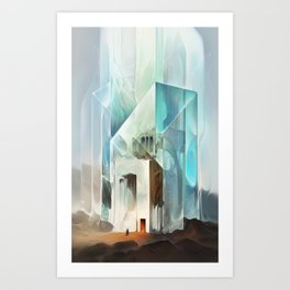 The Crystal-Flesh Hermitage Art Print