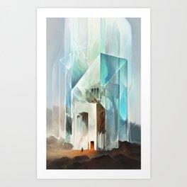 The Crystal-Flesh Hermitage Art Print