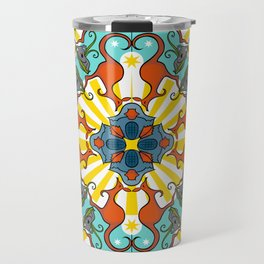 Kaleidoscopic Australia's Animals Travel Mug