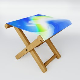 """'70's Lava Lamp"" Photograph Folding Stool"