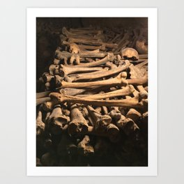 The Bones Art Print