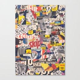 Skip Canvas Print