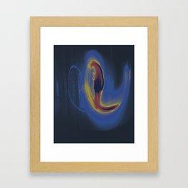 Dancing Light #1 2011 Framed Art Print