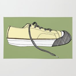 Sneaker in profile Rug