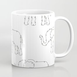 Elephants Coffee Mug
