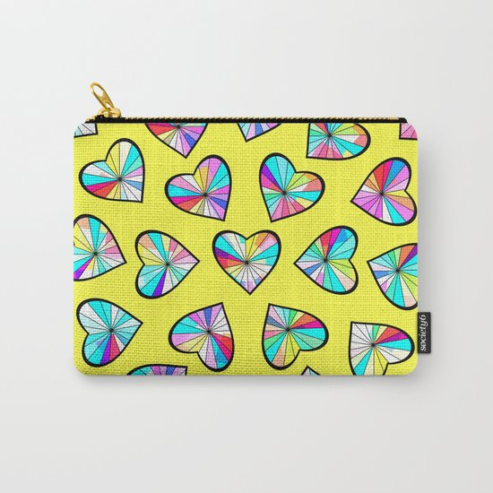 Hearts of glass II Carry-All Pouch