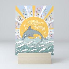 I am choosing peace Mini Art Print